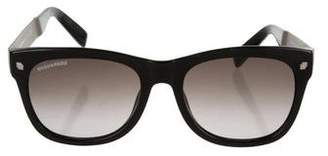 DSQUARED2 Gradient Square Sunglasses