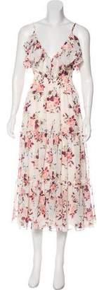 MISA Los Angeles Floral Maxi Dress
