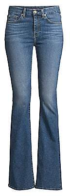 7 For All Mankind Women's Ali High-Rise Flare Jeans