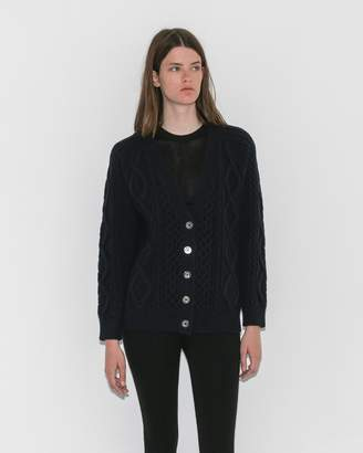 3.1 Phillip Lim Aran Cable Cardigan