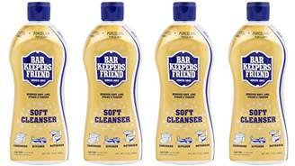 Bar Keepers Friend Soft Cleanser Premixed Formula | 13-Ounces | (4-Pack)