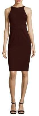 Narciso Rodriguez Jersey Trapunto Knee-Length Dress