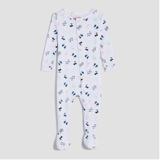 Joe Fresh Baby Girls' Long Sleeve Print Sleeper