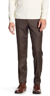 "Louis Raphael Solid Stretch Dress Slim Fit Pants - 30-34"" Inseam"