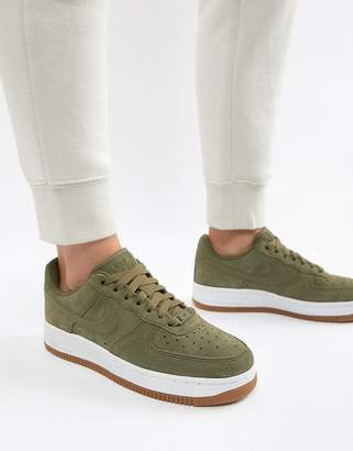 Nike Khaki Air Force 1 '07 Se Sneakers