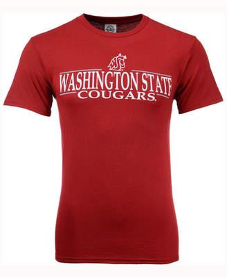 J America Men Washington State Cougars Line Stack T-Shirt