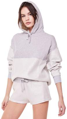 Juicy Couture Foiled Terry Relaxed Hooded Pullover