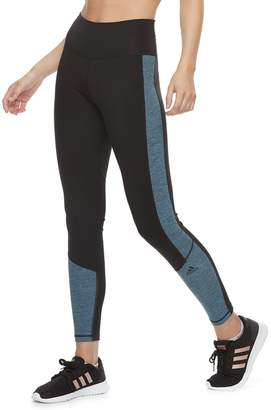 adidas Women's Believe This Space-Dye High-Waisted Ankle Leggings