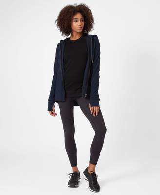 Sweaty Betty Luxe Compose Zip Through Hoodie