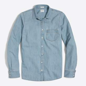 J.Crew Pocket chambray shirt