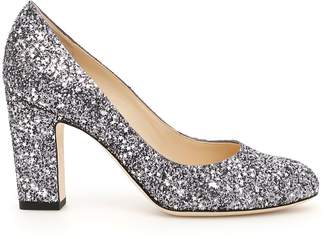 Jimmy Choo Star Glitter Billie 85 Pumps