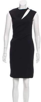 Emilio Pucci Virgin Wool Cutout Dress
