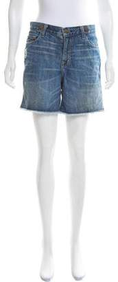 Current/Elliott Mid-Rise Mini Shorts