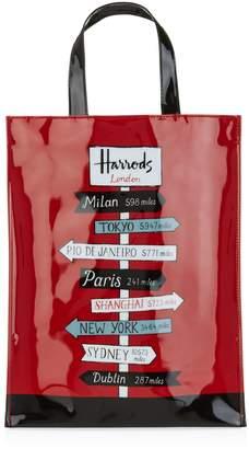 Harrods Medium Sign Posts Shopper Bag