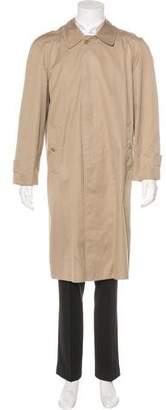 Burberry Nova Check-Lined Overcoat