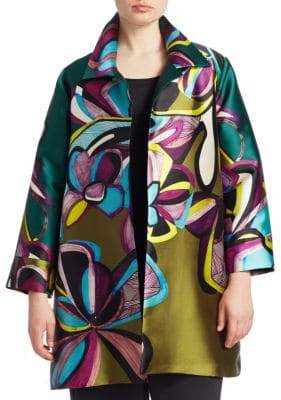 Caroline Rose Party Printed Jacket