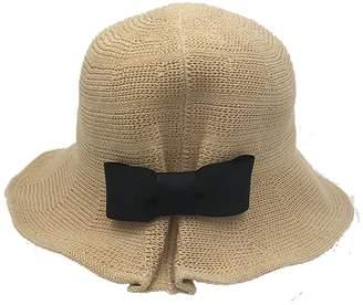 at Amazon Canada · BOW Womens Cotton Sun Hats Foldable Sunhat Bucket Hat  Summer Beach Hat cd1c6d84c1b4