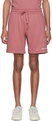 Camper Aime Leon Dore Pink Logo Shorts