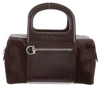 Salvatore Ferragamo Mini Ponyhair Bag