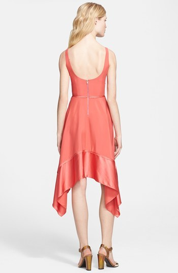 Elizabeth and James 'Portia' Stretch Silk Dress