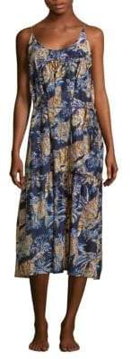 Stella McCartney Jungle Print Dress Cover-Up