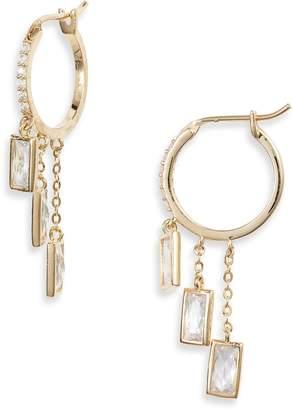 Nordstrom Cubic Zirconia Huggie Hoop Earrings