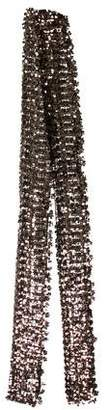 Marc Jacobs Sequined Knit Scarf w/ Tags