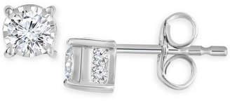 Diamond Stud Earrings (1/2 ct. t.w.) in 14k White Gold, 14K Gold or 14K Rose Gold