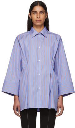 Totême Blue and Red Striped Sedona Shirt