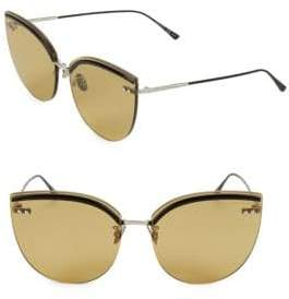 Bottega Veneta DNA 62MM Cat Eye Sunglasses