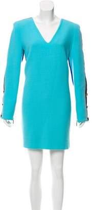 Ungaro Wool Colorblock Dress w/ Tags