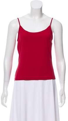 Prada Sport Sleeveless Jersey Top