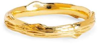 Johnny Was 14K Gold Rose Thorn Band Ring