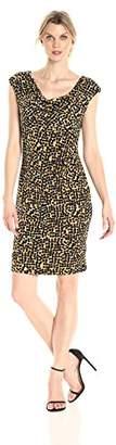 Kasper Women's Splatter Printed Ity Dress