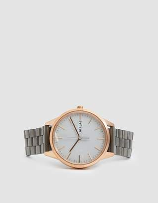 Uniform Wares C40 Day Date Watch in PVD Rose Gold