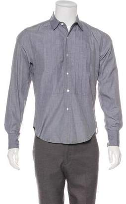 Band Of Outsiders Pleated French Cuff Shirt