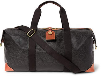 Mulberry Medium Clipper Pebble-Grain Leather Holdall
