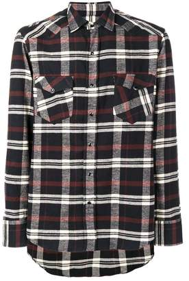 Salvatore Piccolo check printed shirt
