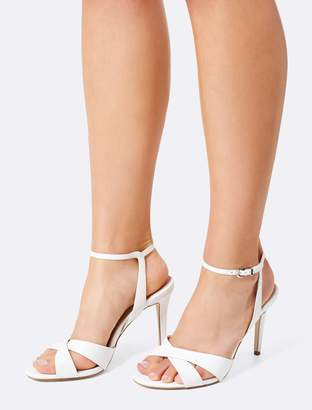Forever New Oriana Heeled Sandals - Nude - 35