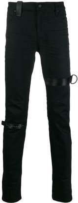 RtA logo skinny-fit jeans