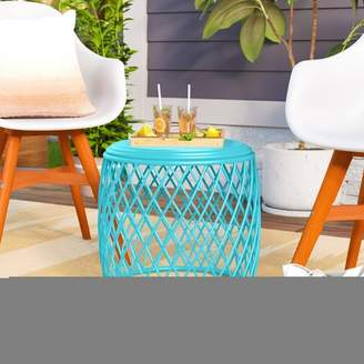 Wrought Studio Quiles Metal Side Table