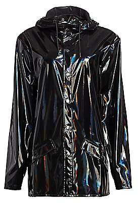 Rains Women's Holographic Rain Coat