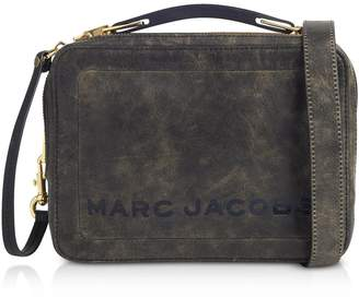 At Forzieri Marc Jacobs The Box Top Handle Leather Squared Satchel Bag
