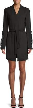 Derek Lam Women's Ruffled Wrap Jacket