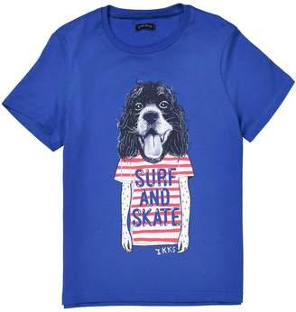 Ikks JUNIOR Dog Print T-Shirt, 3-14 Years