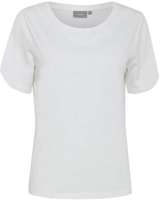 B.young White Basic T-Shirt