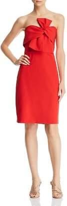 Sam Edelman Strapless Bow-Detail Dress