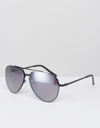 AJ Morgan Aviator Sunglasses in Black $18.50 thestylecure.com