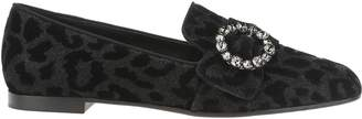 Dolce & Gabbana Slipper Leopard Broch