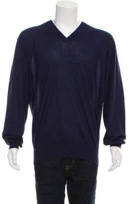 Tom Ford Cashmere & Silk-Blend V-Neck Sweater